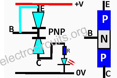 PNP PN junction cutoff