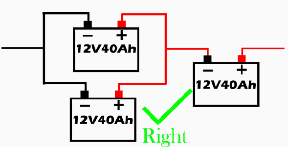 Batteries in both series and parallel